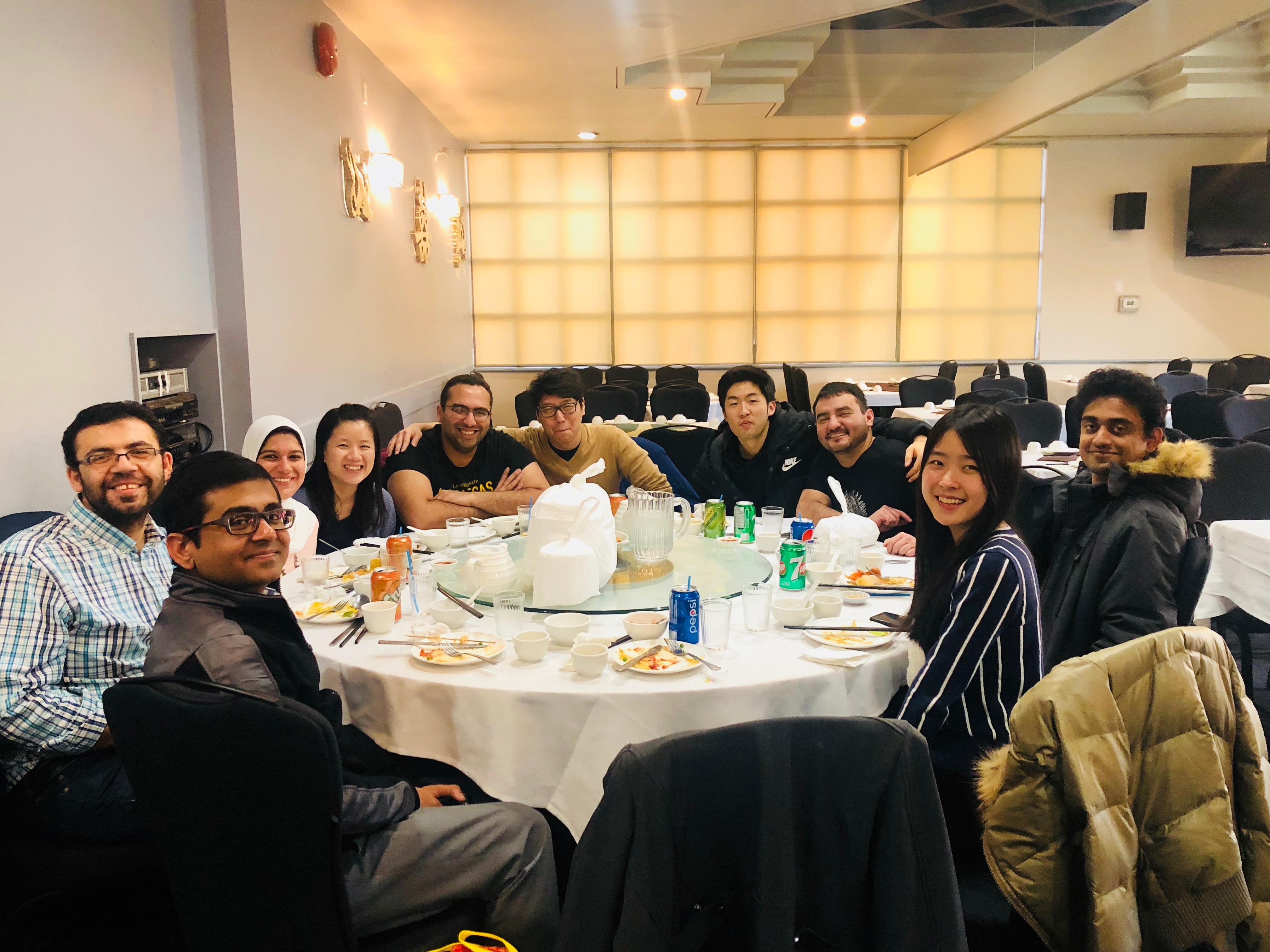 Group lunch Dec 18-2018
